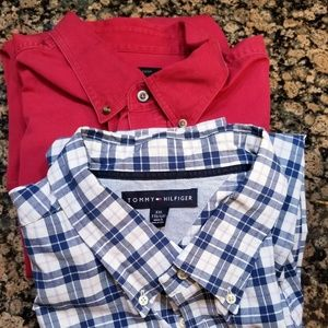 2 for 1 Tommy Hilfiger & Covington long sleeve XXL